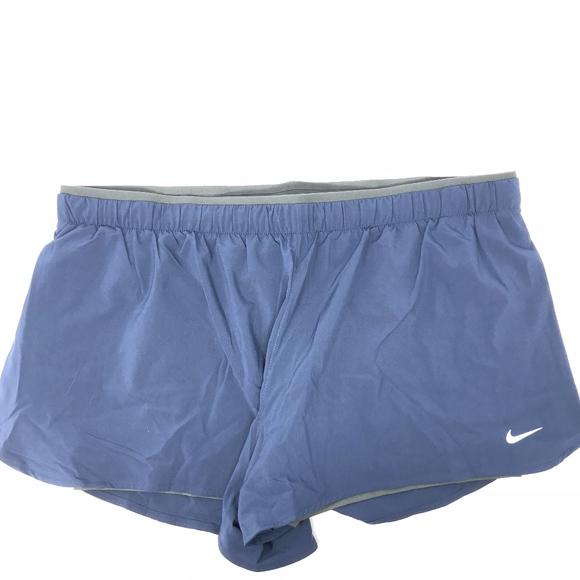 117536f086c1 Nike Shorts   Women Active Running Workout Blue Xxl   Poshmark